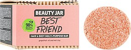Духи, Парфюмерия, косметика Мыло для волос и тела - Beauty Jar Best Friend Hair & Body Multi-Purpose Bar