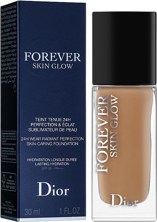 Тональная основа - Dior Diorskin Forever Skin Glow Foundation