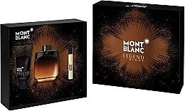 Духи, Парфюмерия, косметика Montblanc Legend Night - Набор (edp/100ml + edp/7.5ml + ash/balm/100ml)