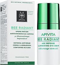 Духи, Парфюмерия, косметика Крем для кожи вокруг глаз - Apivita Bee Radiant Eye Cream