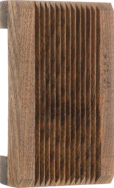"""Мыльница деревянная """"Natural"""", темно-коричневая - Organique"""
