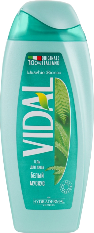 "Гель для душа ""Белый Мускус"" - Vidal Muschio Bianco Shower Gel"