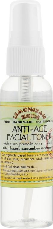 """Освежающий тоник для лица """"Антивозрастной"""" - Lemongrass House Anti-Age Facial Toner"""