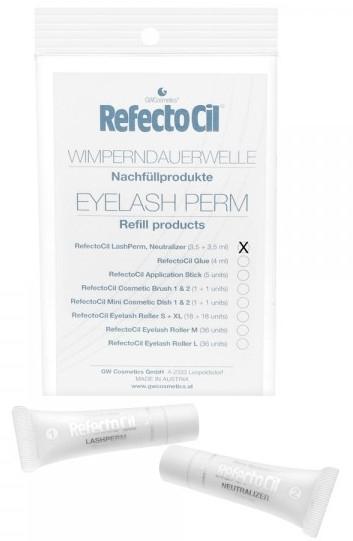 Набор составов для ламинирования ресниц - RefectoCil Eyelash Perm (eyelash/3,5ml + eyelash/3,5ml)