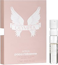 Духи, Парфюмерия, косметика Paco Rabanne Olympea Aqua Eau de Parfum Legere - Парфюмированная вода (пробник)