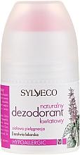 Духи, Парфюмерия, косметика Натуральный цветочный дезодорант - Sylveco Natural Floral Deodorant