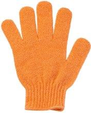 Духи, Парфюмерия, косметика Перчатка-мочалка для душа, оранжевая - Faberlic