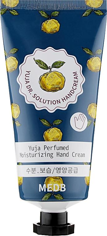 Крем для рук с экстрактом фрукта юдзу - Med B Yuja Dr Solution Hand Cream
