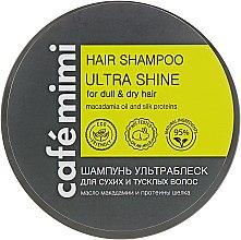 """Духи, Парфюмерия, косметика Шампунь """"Ультраблеск"""" для сухих и тусклых волос - Cafe Mimi Hair Shampoo Ultra Shine"""
