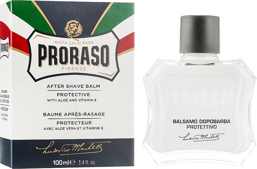 Бальзам после бритья с алоэ и витамином Е - Proraso Blue Line After Shave Balm