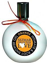 """Духи, Парфюмерия, косметика Гель для душа и интимной гигиены """"Апельсин"""" - Hristina Cosmetics Sezmar Love Orange Intimate & Body Shower Gel"""
