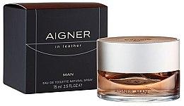 Духи, Парфюмерия, косметика Aigner In Leather Man - туалетная вода