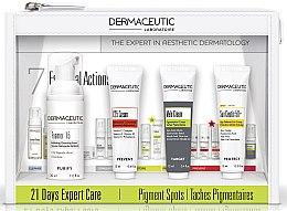 Духи, Парфюмерия, косметика Набор - Dermaceutic Laboratoire 21 Days Expert Care Pigment Spots (cr/15ml + cr/12ml + conc/12ml + foam/30ml)
