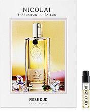 Духи, Парфюмерия, косметика Parfums de Nicolai Rose Oud - Парфюмированная вода (пробник)