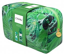 Духи, Парфюмерия, косметика C-Thru Luminous Emerald - Набор (edt/30ml + deo/150ml + pounch)