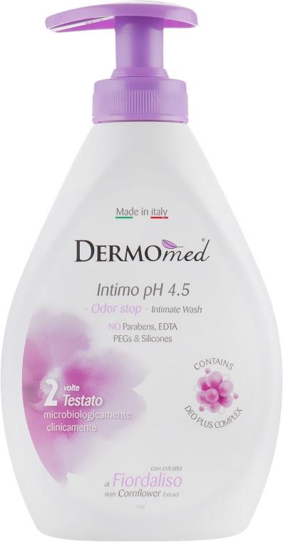 Гель для интимной гигиены с экстрактом василька - Dermomed Intimo Fresh