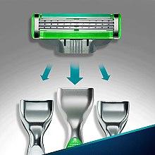 Сменные кассеты для бритья - Gillette Mach3 Sensitive — фото N5