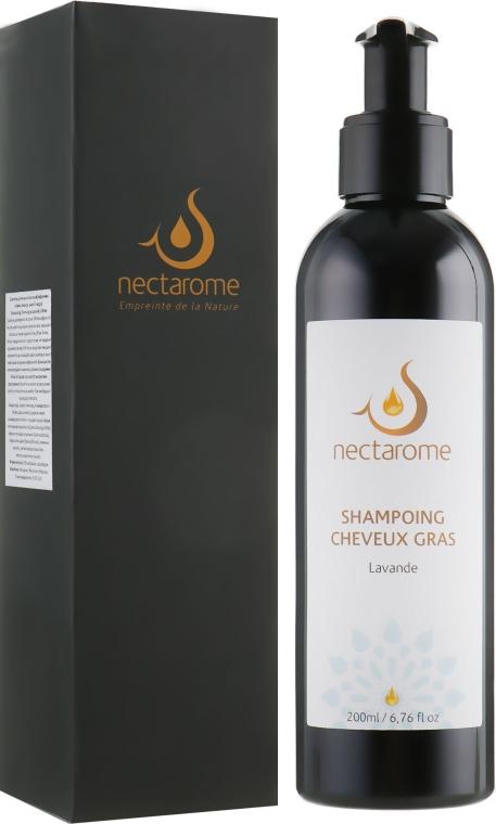 "Шампунь для жирных волос ""Лаванда, шалфей и кедр"" - Nectarome Shampooing pour Cheveux gras à la Lavande"