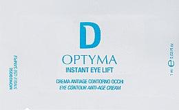 Духи, Парфюмерия, косметика Крем для век - Dermophisiologique Optyma Instant Eye Lift Cream 24H (пробник)