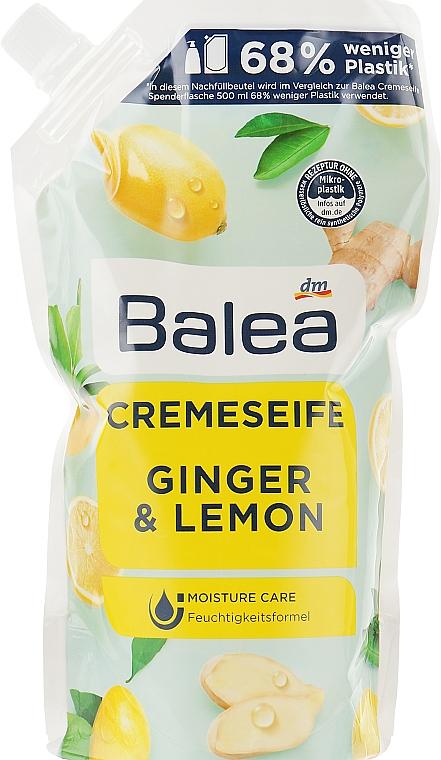 Крем-мыло для рук с имбирем и лимоном - Balea Ginger & Lemon Cream