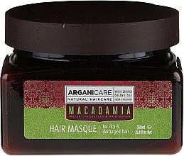 Духи, Парфюмерия, косметика Ультрапитательная и восстанавливающая маска для волос - Arganicare Silk Macadamia Hair Mask