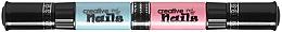 Духи, Парфюмерия, косметика Лак-карандаш для ногтей детский на водной основе, розовый + голубой - Creative Nails