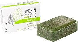 """Духи, Парфюмерия, косметика Мыло """"Шалфей"""" - Styx Naturcosmetic Basic Soap With Sage"""