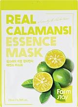 Духи, Парфюмерия, косметика Витаминная маска для лица с экстрактом каламанси - Farmstay Real Calamansi Essence Mask