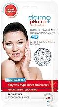 Духи, Парфюмерия, косметика Маска для лица - Dermo Pharma 4D Wrinkle & Dark Circle Reducer Gel Patches