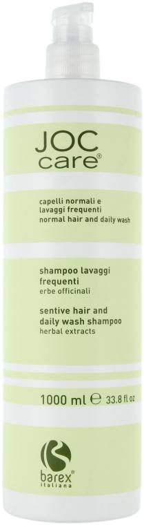 Шампунь для волос с экстрактом трав - Barex Italiana Joc Care Shampoo