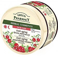 """Духи, Парфюмерия, косметика Крем для лица """"Клюква"""" - Green Pharmacy Anti-Aging Cranberry Nourishing Cream"""