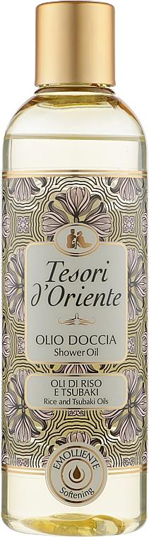 Масло для душа - Tesori d`Oriente Rise And Tsubaki Oils