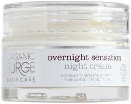 Духи, Парфюмерия, косметика Ночной увлажняющий крем для лица - Organic Surge Daily Care Overnight Sensation Night Cream