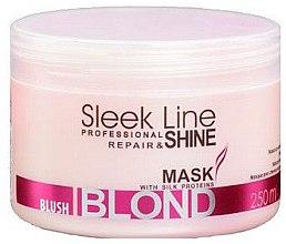 Духи, Парфюмерия, косметика Маска для волос - Stapiz Sleek Line Blush Blond Mask