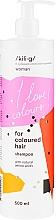 Духи, Парфюмерия, косметика Шампунь для окрашенных волос - Kili·g Woman Shampoo For Coloured Hair