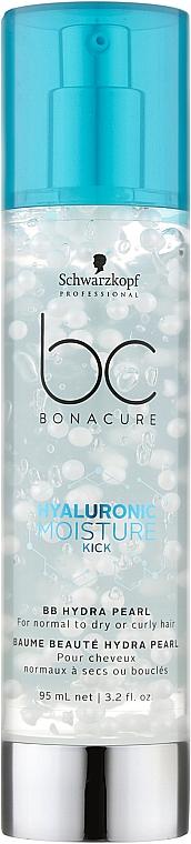 BB-крем для волос - Schwarzkopf Professional BC Hyaluronic Moisture Kick BB Hydra Pearl
