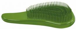 Духи, Парфюмерия, косметика Щетка для пушистых и длинных волос, зеленый металлик - Sibel Melo Metallic