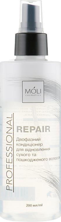 """Двухфазный кондиционер-спрей для волос """"Восстановление"""" - Moli Cosmetics Repair Spray"""