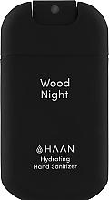 """Духи, Парфюмерия, косметика Очищающий и увлажняющий спрей для рук """"Древесный акцент"""" - HAAN Hand Sanitizer Wood Night"""