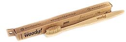 "Духи, Парфюмерия, косметика Бамбуковая зубная щетка ""Классик"" средняя - WoodyBamboo Bamboo Toothbrush Classic"
