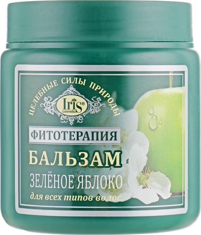 """Бальзам """"Зеленое яблоко"""" для всех типов волос - Iris Cosmetic"""