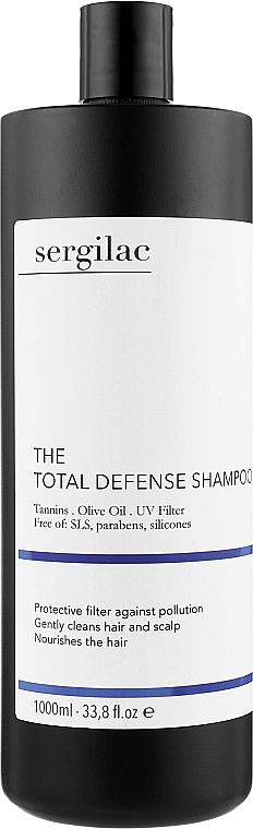 Защитный шампунь для волос - Sergilac The Total Defence Shampoo