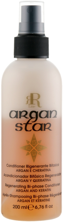 Реструктуризирующий спрей с маслом арганы и кератином - RR Line Argan Star Spray