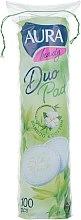 Духи, Парфюмерия, косметика Ватные диски, 100шт - Aura Beauty Bamboo&Cotton