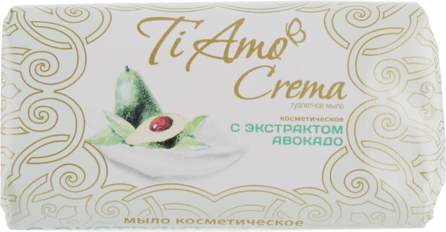 Туалетное мыло с экстрактом авокадо - Мыловаренные традиции Ti Amo Crema