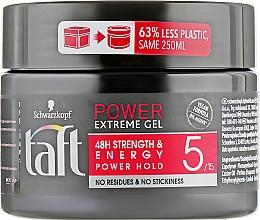Духи, Парфюмерия, косметика Гель для волос, фиксация 5 - Taft Power Extreme
