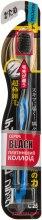 Духи, Парфюмерия, косметика Зубная щетка жесткая, черно-синяя - Dentalpro Ultra Slim