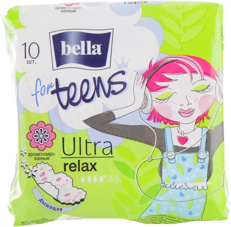 Прокладки For Teens Ultra Relax, 10 шт - Bella