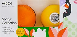 """Духи, Парфюмерия, косметика Набор бальзамов для губ """"Апельсин и лимон"""" - EOS Spring Collection Limited Edition (2x7g)"""