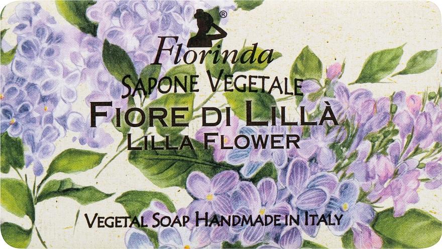 """Мыло натуральное """"Сирень"""" - Florinda Sapone Vegetale Lilla Flower"""